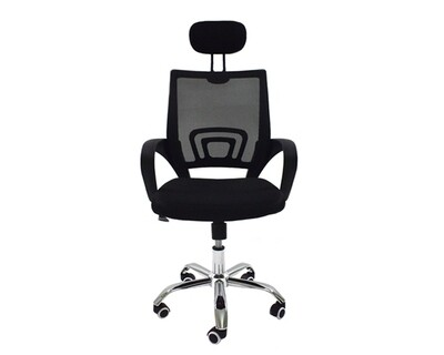 Ofix Deluxe-5H High Back Mesh Chair (Black, Red, Blue, Purple, Pink, Grey)