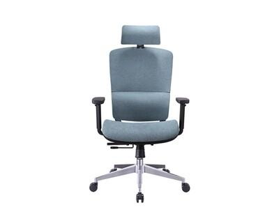 Ofix Korean-103 High Back All Mesh Chair (Blue-gray)