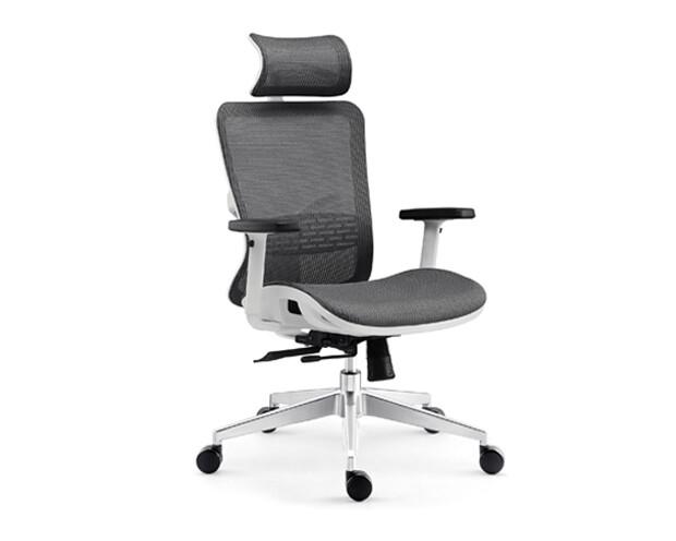 Ofix Korean-110 High Back All Mesh Chair (Dark Gray)