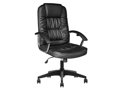 Ofix Deluxe-35P High Back PU Chair (Black)