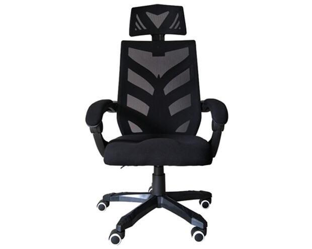 OFX Deluxe-25 High Back Mesh Gaming Chair (Black, Red)
