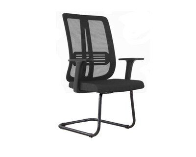 Korean-104J Mid Back Mesh Chair (Black)