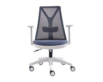Ofix Korean-108/ 109 Mid Back Mesh Chair (Black, Blue-Gray, Red, White, Pink)