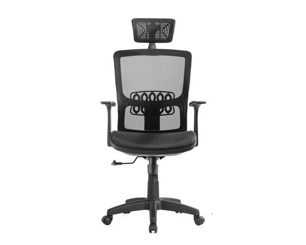 Ofix Korean-12L High Back All-Mesh Chair (Black)