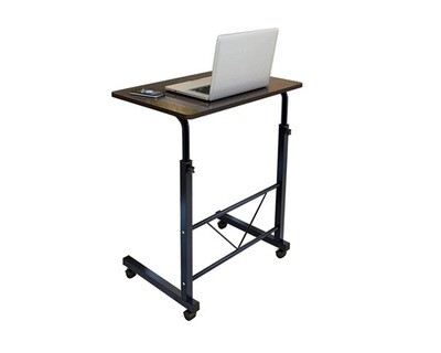 (Sale) Ofix Aurora Multi-functional Bed Side/Laptop Desk (Black Willow) (Top & Base Scratches)