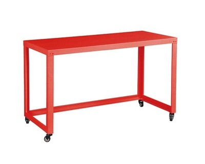 Ofix All Metal Mobile Desk (120x55) (Red)