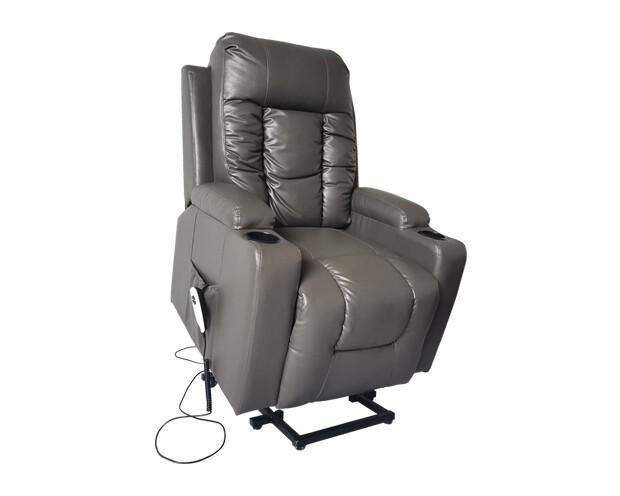 Flotti Carmel Lift-Recline Electric Sofa (Gray)