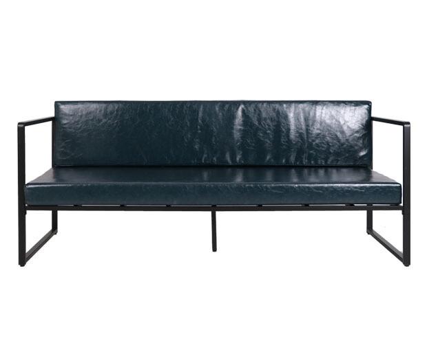 Flotti Hebron Metal Sofa 3-Seater (Blue)