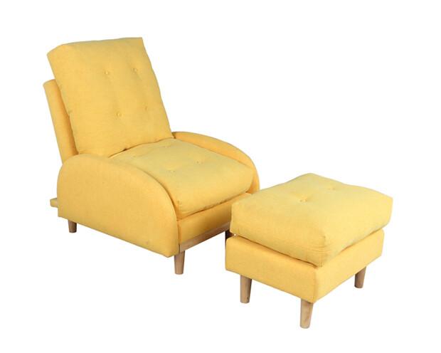 Flotti Rigga Sofa Bed (Yellow)