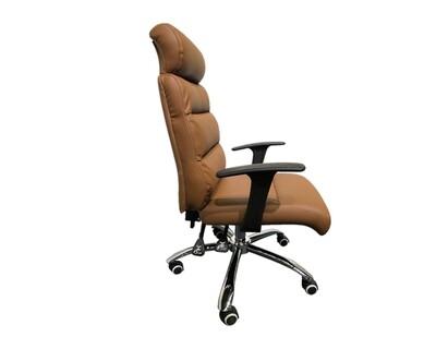 Ofix Premium-15 High Back PU Chair (Brown, Black, Pink)