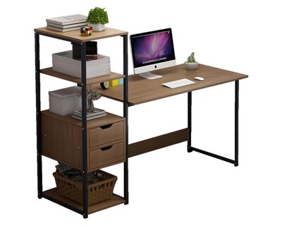 Ofix Desk 10 (Light Top, Blue Top) (Chair Not Included)