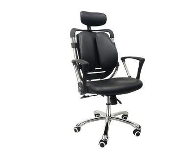 Ofix Premium-36 High Back PU Chair (Black)