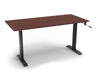 Ofix HDF105 (120x60) Manual Height Adjustable Desk