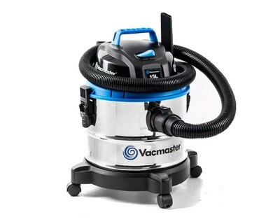 VacMaster 15L Stainless Wet and Dry Vacuum Cleaner