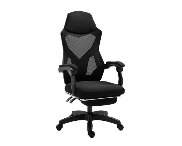 OFX Deluxe-25 V2 Footrest Gaming Chair (Black, Red, Pink, Purple)