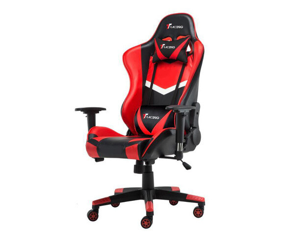 OFX Samson Wide Body Gaming Chair (Red-Black)