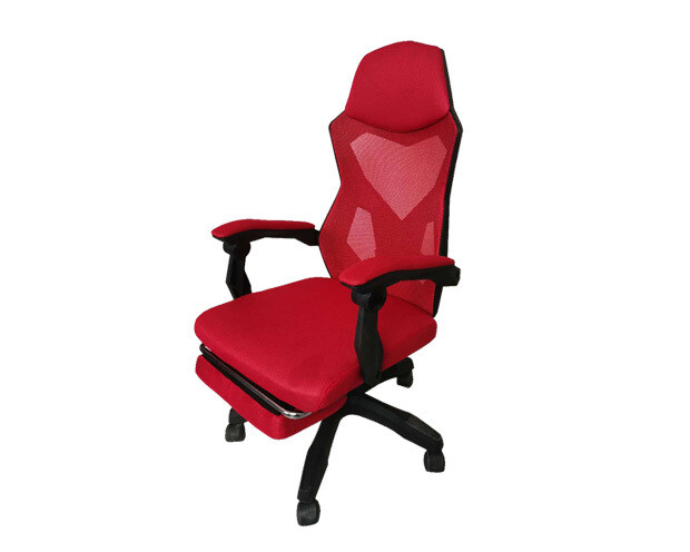 OFX Alex w/ Footrest Gaming Chair (Red+Black, Pink+White, Purple+White)