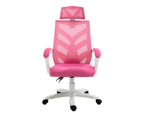 OFX Deluxe-25W High Back Mesh Gaming Chair (Pink, Purple, Light Blue)