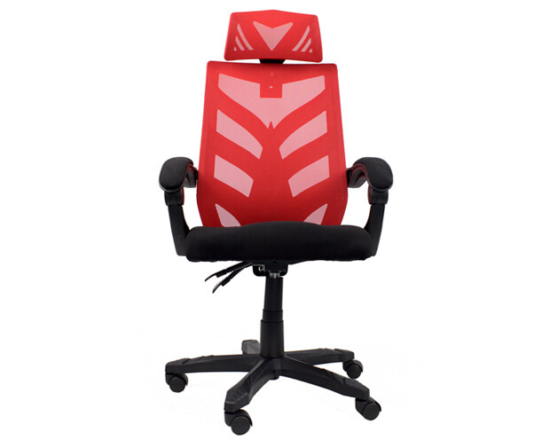 OFX Deluxe-25/ 25W High Back Mesh Gaming Chair (Red+Black, Pink+White, Blue+White, Purple+White)