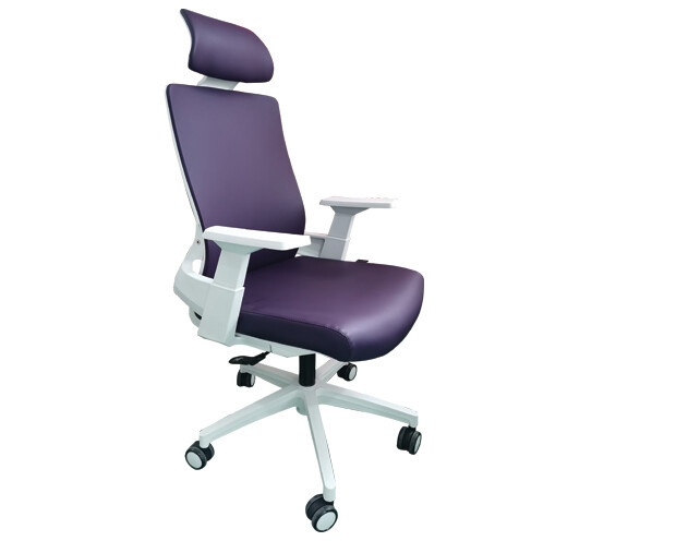 Ofix Deluxe-F10W High Back PU Chair (Pink, Blue, Violet)