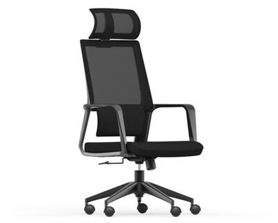 Ofix Korean-105J High Back Mesh Chair (Black)