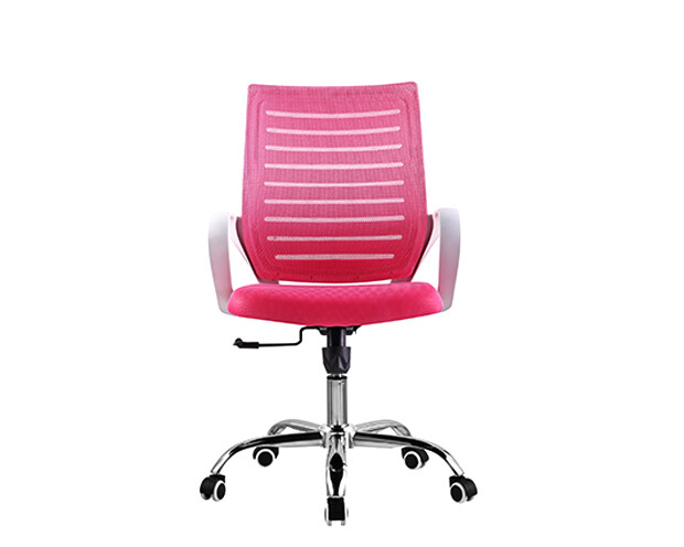 Ofix Deluxe-49W Mid Back Mesh Chair (Pink)