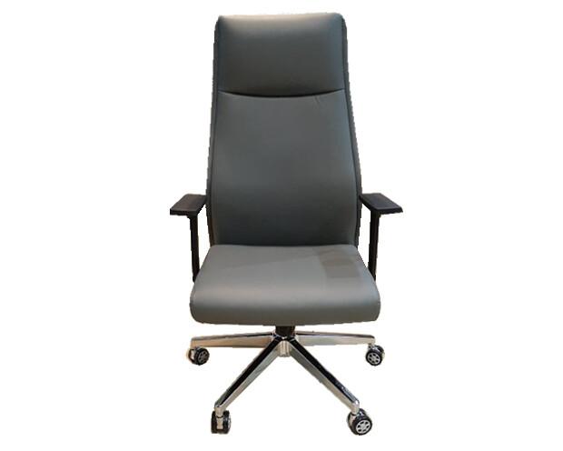 Ofix Premium-6 High Back PU Chair (Gray)