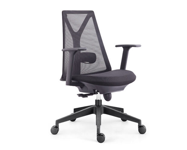 Ofix Korean-108/ 109 Mid Back Mesh Chair (Black, Blue-Gray, Red, White, Pink)