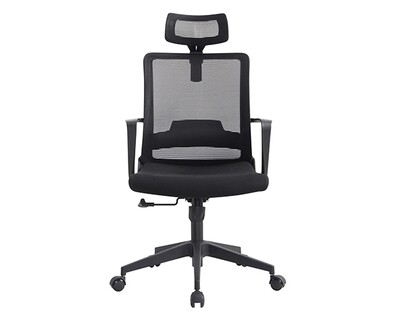 Ofix Deluxe-60 High Back Mesh Chair (Black)