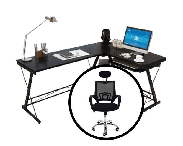 Ofix Work From Home 15 L-Shape Desk (120x48)