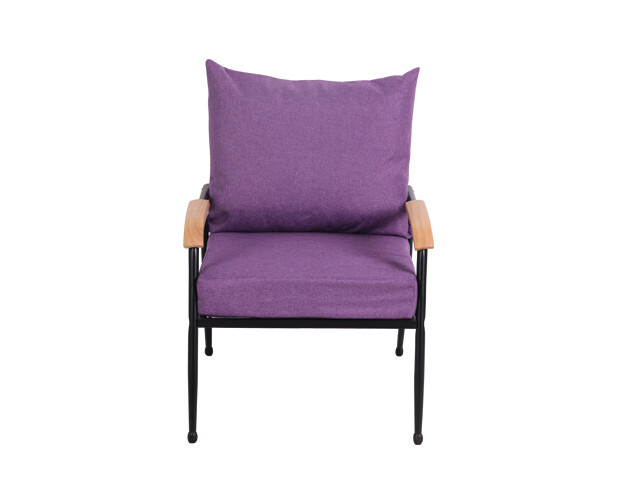 Flotti Canaan Metal Sofa-Single Seater (Blue, Grey, Purple, Pink)