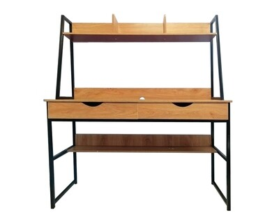 Ofix Desk 14-With Bookcase (120x48) (Chair Not Included)
