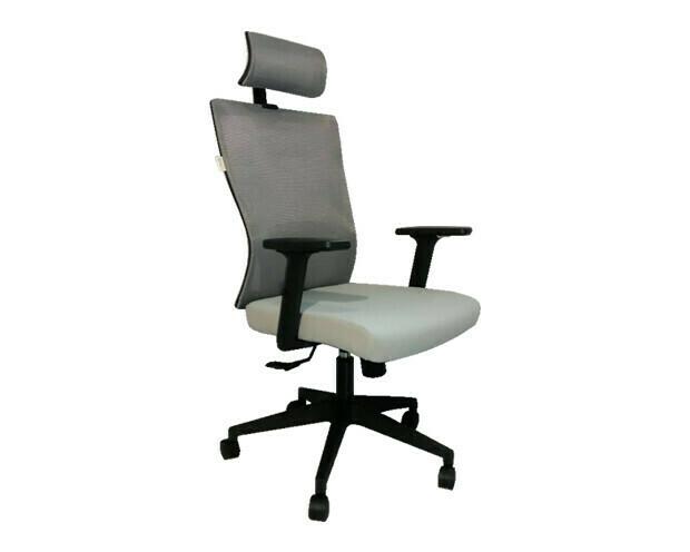 Ofix Korean-101J High Back Mesh Chair (Gray, Black)