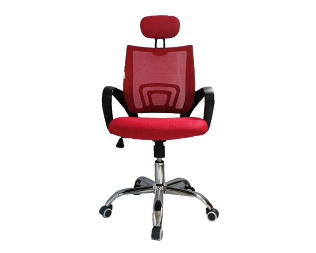 Ofix Deluxe-5H High Back Mesh Chair (Red, Purple, Pink, Orange)