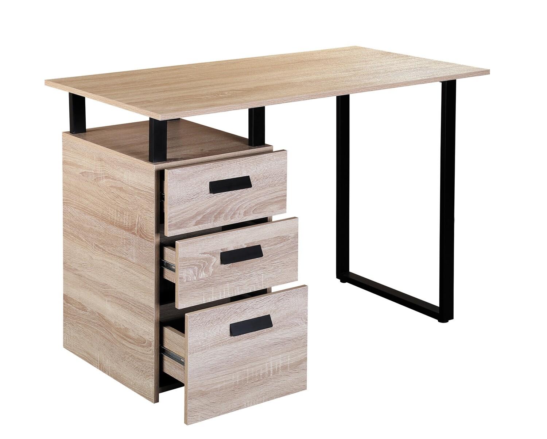 Ofix 110 Desk (110x60) Computer Desk (Ash, Brown)