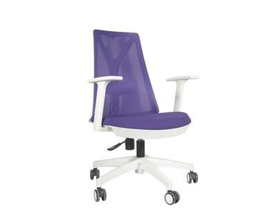 Ofix Korean-108/ 109 Mid Back Mesh Chair (All Black, Blue+Gray, Red+Gray, Pink+White, Purple+White, All White)