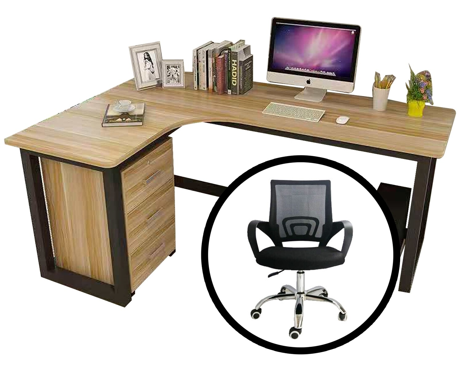 Ofix Work From Home 701 L-Shape Desk