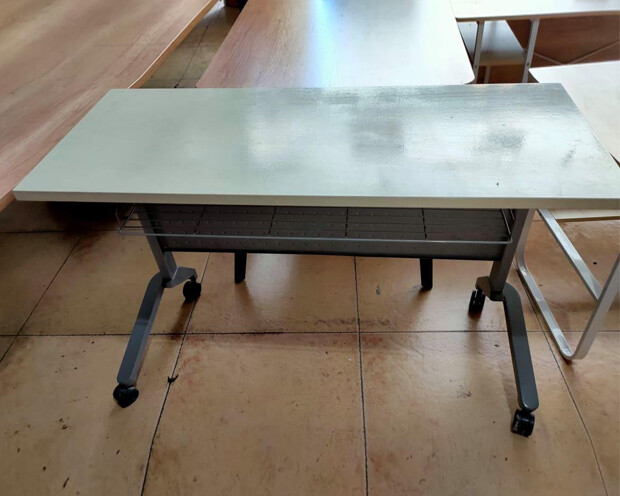 (Sale) Ofix (120x50) 107-OF / Foldable Training Table (Scratches/Stains)