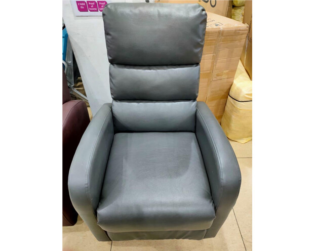 (Sale) Flotti Moriah Lift-Recline Electric Sofa (Gray) (Scratches)