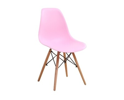 Ofix Kaylee Stacking Dining Chair (Pink, Red, White)