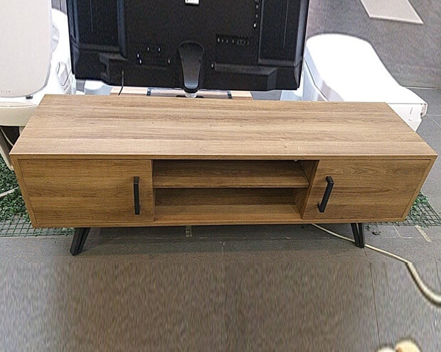 (Sale) Ofix 312 (140x40)  TV Stand (Light Scratches/Crack)
