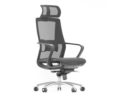 Ofix Deluxe-80/ 80H All Mesh Chair (Black)