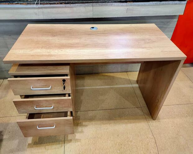 (Sale) Ofix 250-OF (120x60) Desk (Original Wooden) (Light Scratches)