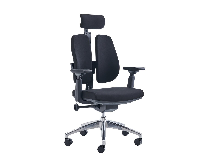 Ofix Premium X17 Double Back Office Chair (Black)