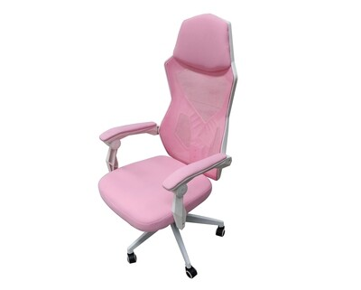 (Sale) OFX Alex Without Footrest Gaming Chair (Pink+Purple) (Scratches & Light Stain)