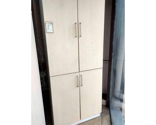 (Sale) Ofix 224-1-OF / High Cabinet / 2 Doors (Maple) (Scratches/Black Spots)