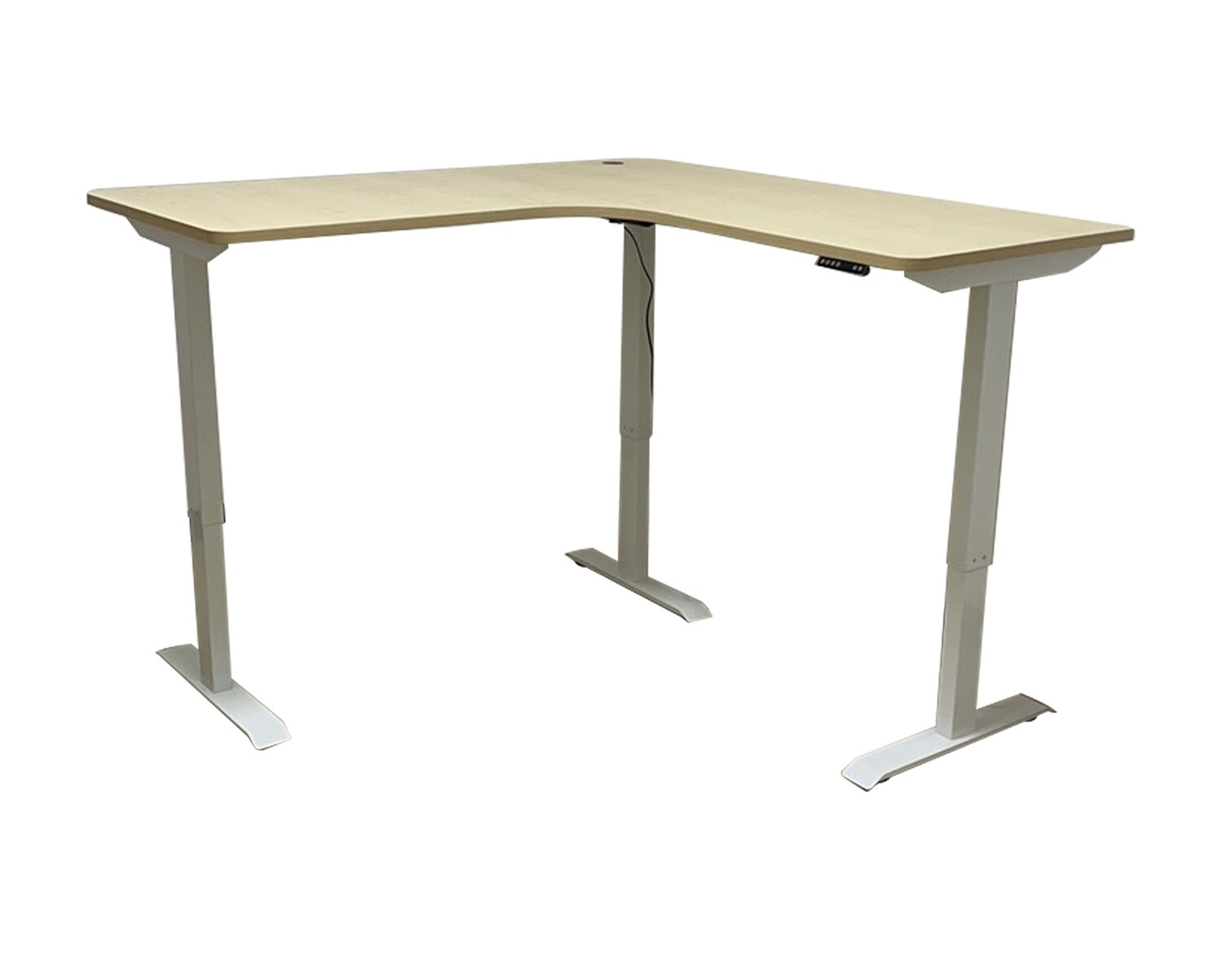 Ofix HDF108 (160*160*70) L-Shape Height Adjustable Single Motor Desk