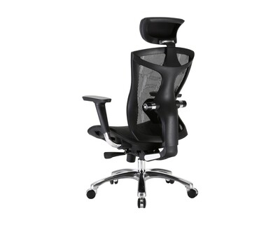 OFX Caleb Gaming Chair All Mesh (Without Footrest) (Black)