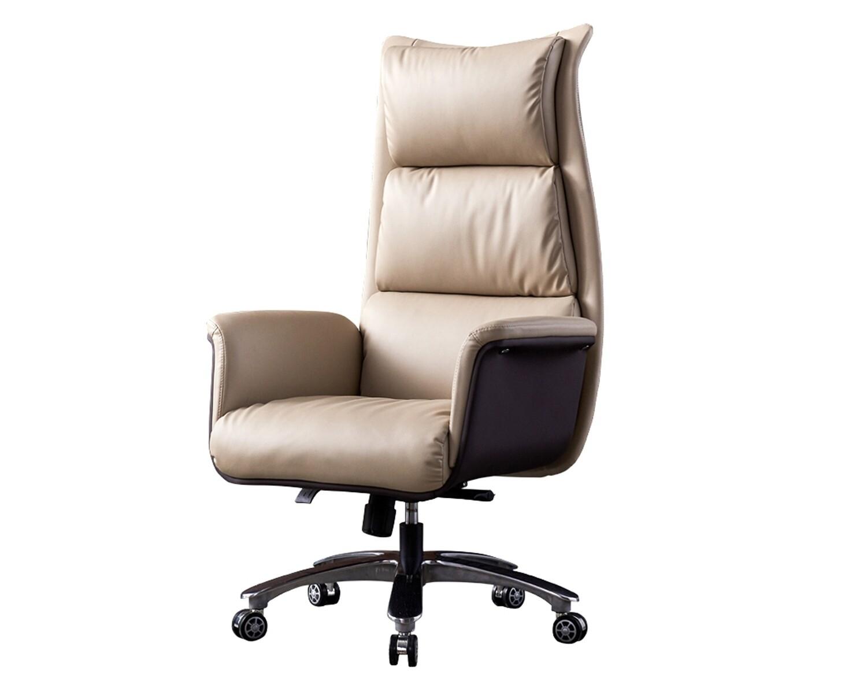 Ofix Premium-42 High Back PU Chair (Beige)