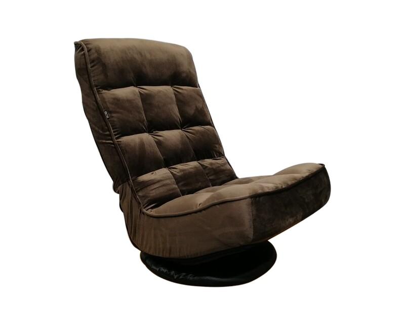 Flotti Jinks Floor Sofa (Blue, Brown)